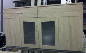 badkamermeubel rubberwood